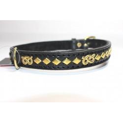 Lederhalsband - Staffbull - Raute