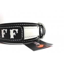 Lederhalsband - AMSTAFF black two